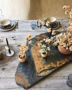 lots of F E E L I N G S today, and then I found this image from our recent shoot with // and it made me smile. - that stone slab 😍 Outdoor Pendant Lighting, Deco Nature, Wabi Sabi, Fine Dining, Dining Table, Wedding Table, Wedding Bride, Wedding Flowers, Event Decor