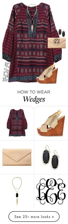 """""""Tell me tell me something I don't know."""" by maliaackermann on Polyvore featuring Soda, Carré Royal and Kendra Scott"""