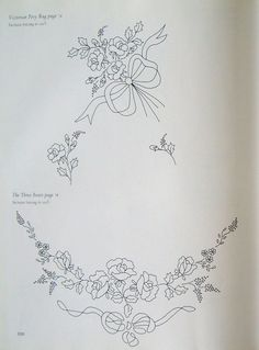 """Photo from album """"Вышивание лентами on Yandex. Ribbon Embroidery Tutorial, Border Embroidery Designs, Floral Embroidery Patterns, Baby Embroidery, Embroidery Transfers, Silk Ribbon Embroidery, Embroidery Stitches, Learning To Embroider, Quilling Patterns"""