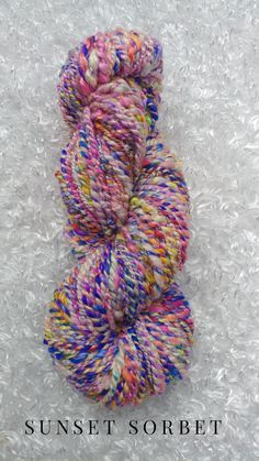 silk handspun yarn