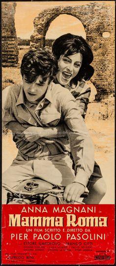 """Mamma Roma (Cineriz, 1962). Italian Locandina (11.75"""" X 27""""). Foreign. Starring Anna Magnani, Ettore Garofolo, Franco Citti, and Silvana Corsini. Directed by Pier Paolo Pasolini. A country of origin poster."""