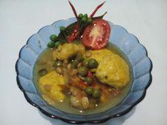 Takokak Chicken Gravy Green Tauco | Shared Tastes