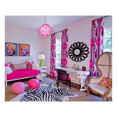 teenage bedroom ideas for girls ❤ liked on Polyvore