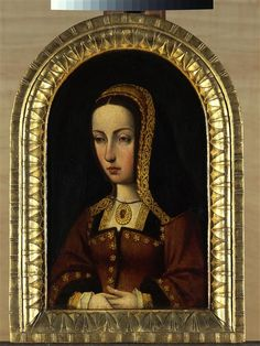 Joan of Castile. Mother of Charles V