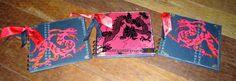 BaRb'n'ShEllcreations - Mini Albums - Dragons - made by Shell