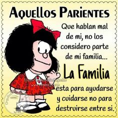 Parientes... People Quotes, Me Quotes, Funny Quotes, Spanish Humor, Spanish Quotes, Motivational Quotes For Working Out, Inspirational Quotes, Mafalda Quotes, Quotes En Espanol