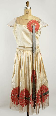 Dress (Robe de Style)  (attributed) House of Lanvin (French, founded 1889)  Date: 1925