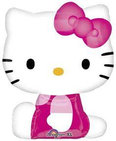 Hello Kitty (Side Pose) Super Shape balloon, hello kitty birthday, hello kitty, kitty, birthday girl, party supplies, party ideas