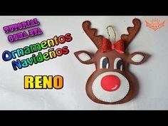 (111) Rudolph El reno de Nariz roja En foamy o Goam eva | Especial Navidad - YouTube
