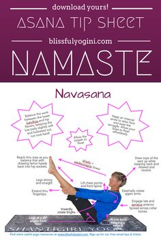 Read all about it and download your free asana tip sheet: http://www.blissfulyogini.com/?p=944 ❤️ ~ aloha & namaste, blissfulyogini.com #yoga #asanatipsheet #blissfulyoginis