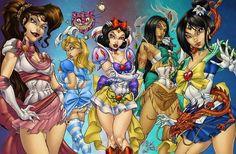 Sexy Disney Girls