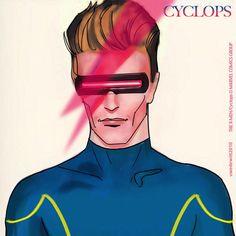 Cover Parody Cyclops Bowie - Uwe de Witt pic