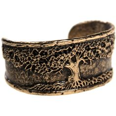 House of Alaia Tree of Life Cuff Bracelet ($99) ❤ liked on Polyvore featuring jewelry, bracelets, cuff bracelet, cuff bangle, engraved cuff bracelet, cuff bangle bracelet and engraved jewelry
