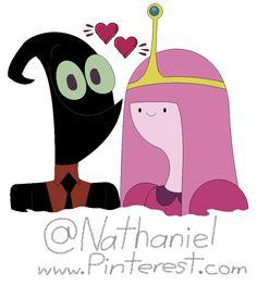 Nergal And Princess Bubblegum 2016 Cartoon Network Art By Nathaniel