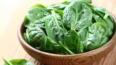 Zinc, found in spinach, can help shorten the duration of a cold by a few days.