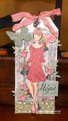 Loves Rubberstamps Blog: WOW Wednesday - Featuring Marcy - Prima Doll With Peasant Dress