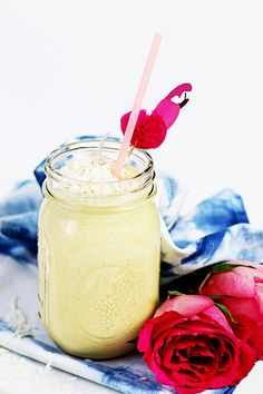 Smoothie mangue coco ananas