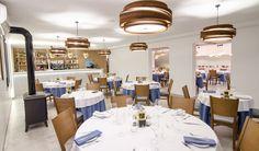 Zona de comedor perspectiva general. #carmaninteriorismo, #proyecto, #diseño, #interiorismo, #restaurante, #mojacar