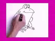 drawing a frog starting with the number 7 and a mouse starting with the number 3... could use as a reward for learning multiplication facts.
