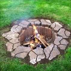 offene feuerstelle bauen gartentipps | garten | pinterest, Hause und Garten