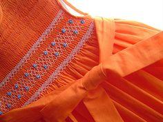Orange Little dress | anna fabó | Flickr
