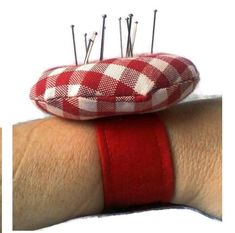 Wrist pincushion any colour / size sewing accessories mothers day gift