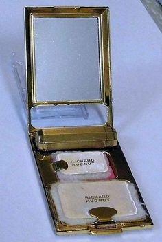 Vintage Richard Hudnut Compact and Lipstick Holder.