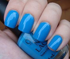 OPI - No Room For The Blues.