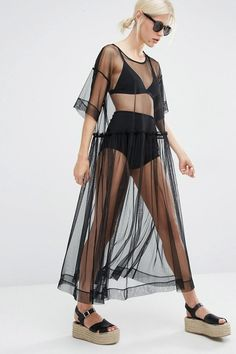 28 Summer Dresses For People Who Love To Wear Black – Best Trends Mode Outfits, Dress Outfits, Fall Outfits, Summer Outfits, Fashion Outfits, Summer Dresses, Summer Wear, Fashion 2018, Sexy Outfits