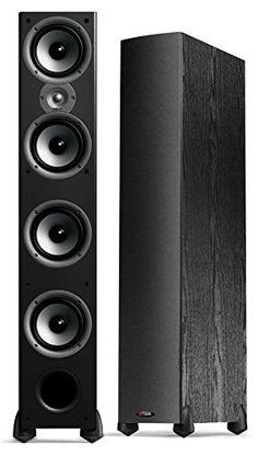 Polk Audio Monitor 70 Series II Tower Speaker (Black, Single) for Multichannel Home Theater Home Audio Speakers, Multimedia Speakers, Audiophile Speakers, Tower Speakers, Best Speakers, Speaker Stands, Hifi Audio, Speaker System, Homemade Speakers
