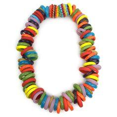Die Kettenmacherin Glass Necklace: Multicolored
