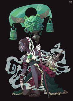 ArtStation - Priestess, Alexis Rives