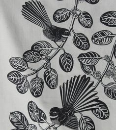 I honestly have an appreciation for the colors, lines, and fine detail. This is certainly a brilliant artwork if you would like a Tea Tattoo, Maori Art, My Drawings, Screen Printing, Original Drawing, Artwork, Flower Stencil, Bird Art, Nz Art