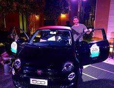 I'm going , bye bye  #madarin #vanityfair #500 #fiat #happy #giacomourtis #urtis #'man #model @vanityfairitalia @vanityfair — con Giacomo Urtis e Giacomo Urtis presso Mandarin Oriental, Milan.
