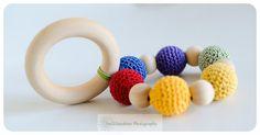 Crochet Bead Teething Sensory Toy