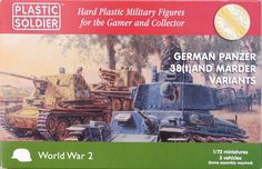 Pz38(t) and Marders in 1/72... Another great kit from this company!