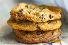 Dark Chocolate, orange zest, and delicious dough combine to make the perfect chocolate chip cookie!