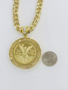 Gold Plated Centenario pendant with chain/bracelet for Sale in Glendale Heights, IL - OfferUp Glendale Heights, Coin Pendant, Plating, Jewelry Accessories, Gold Necklace, Pendants, Mens Fashion, Chain, Bracelets
