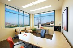 We love this office space, don't you? This suite used Trendway office furniture to create great atmosphere, functionality & comfort! Check out their products at http://www.trendway.com and contact us to help you create your custom office/professional space!  #furniture #officespace #office #professional #custom #realestate #gorgeous #desks #desk #chairs #chair #seats #seating #seat #colorful