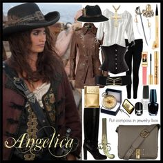 Angelica - Pirates of the Caribbean