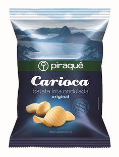 Design Innova: Piraquê lança batatas fritas onduladas