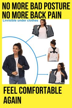 The Best Posture Corrector For Men and Women! The Top Posture A Back Brace For Posture and Mind. Our Zeowo Back Posture Corrector heals your back problems and your depression. Our Zeowo Posture Corrector is made of custom cushioning. Shoulder Posture Corrector, Posture Corrector For Men, Better Posture, Bad Posture, Back Brace For Posture, Shoulder Support Brace, Muscle Imbalance, Perfect Posture, Muscle Memory
