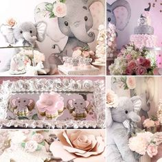 Baby Elephant Baby Shower Party Ideas | Photo 1 of 16 | Catch My Party