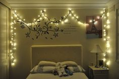 Bedroom Ideas From Comfortable To Truly Amazing Utterly Cozy Thoughts Come Up With A Cly And Superb Home Decor String Lights