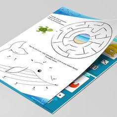 16 siders god underholdning for de 4 årige, med opgaver som prik til prik, labyrinter, find fem fejl og meget mere. Skal blot hentes ned og printes. Printer, Printers