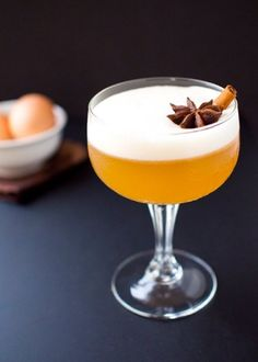 Fall Whiskey Cocktails: Chai Whiskey Sour