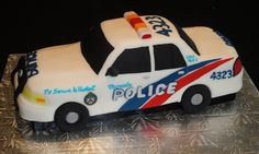 New Police Cars Cake Galleries 48 Ideas Police Car Cakes, Kids Party Treats, Fireman Cake, Image Birthday Cake, Birthday Stuff, 5th Birthday, Birthday Cakes, Police Party, Cake Gallery