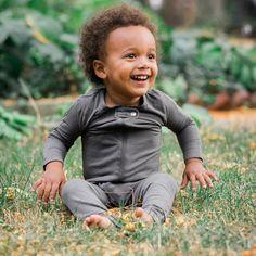 d419d2c43b Baby Breez Romper Sleeper in Charcoal color. Baby Breez Instagram (  babybreez)