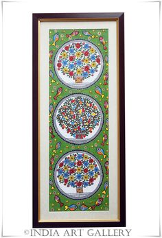 Madhubani paintings or Mithila Art is a style of Indian art painting, practiced in the Mithila region of Bihar state, India. Our Madhuba. Madhubani Paintings Peacock, Kalamkari Painting, Madhubani Art, Indian Art Paintings, Gond Painting, Mural Painting, Fabric Painting, Painting Frames, Indian Art Gallery