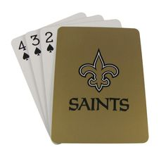 New Orleans Saints Playing Cards